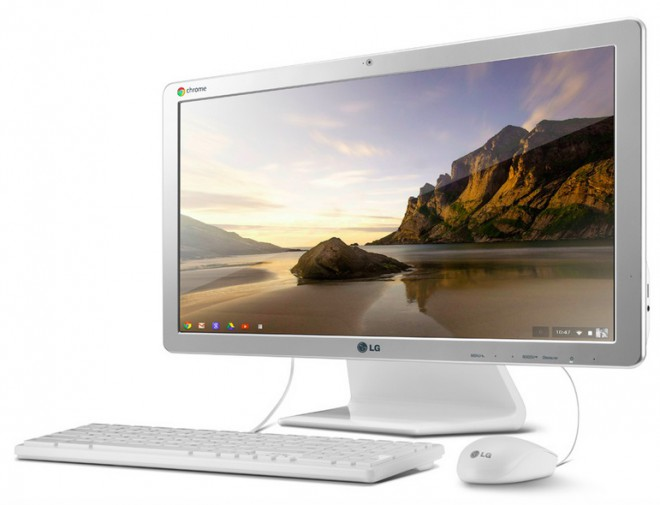 LG All-in-One PC Chromebase 22CV241